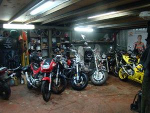 зимнее хранение мотоцикла в г. Мытищи