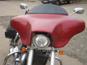 установка бэтвинга на мотоцикл