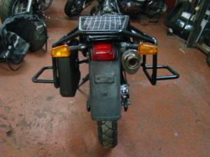 изготовление рамок на мотоцикл XT600
