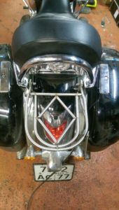 изготовление багажников на мотоцикл VN1700