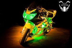 светодиодная подсветка мотоцикла CBR 929