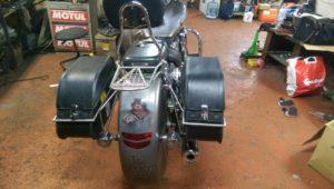 изготовление багажников на мотоцикл VTX1800
