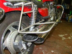 изготовление рамок на мотоцикл Magna