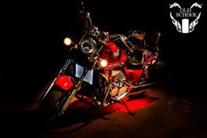 светодиодная подсветка мотоцикла Magna 750