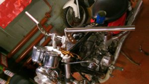 изготовление руля на мотоцикл